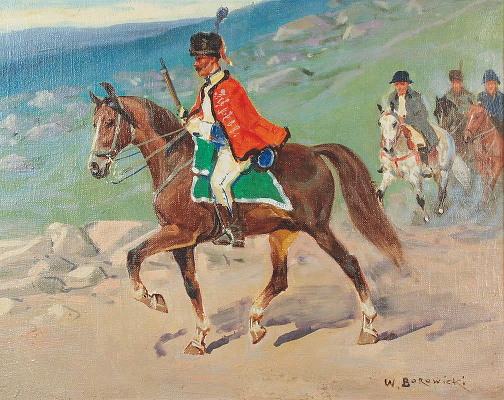 Napoleon pod Somosierrą