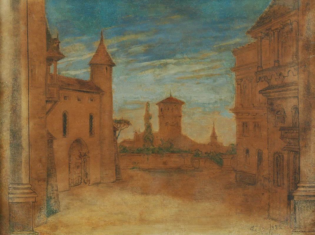 Motyw miejski, 1921