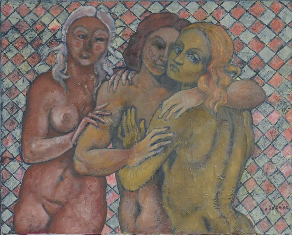 L`amoureux (Kochankowie) z cyklu ENIGME DU TAROT (zagadka tarota) - A.Zatorska