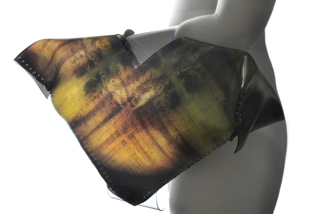 ARTbag-torba podręczna z prezentacją grafiki Anny Ajtner z cyklu ANGRAF