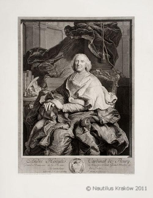 Andre Hercules Cardinal de Fleury, 1730