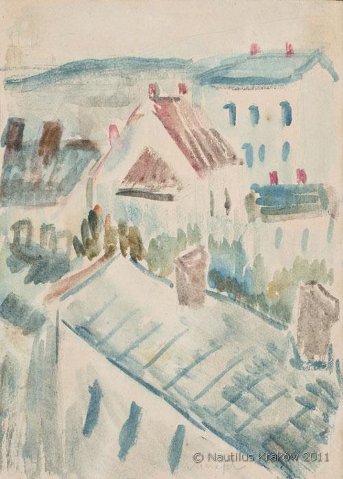 Pejzaż miejski, lata 30. XX wieku