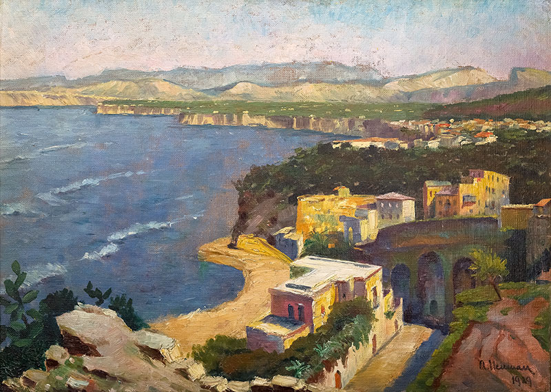 Pejzaż nadmorski, 1929 r.