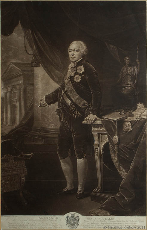 Portret księcia Aleksandra Kurakina, 1809