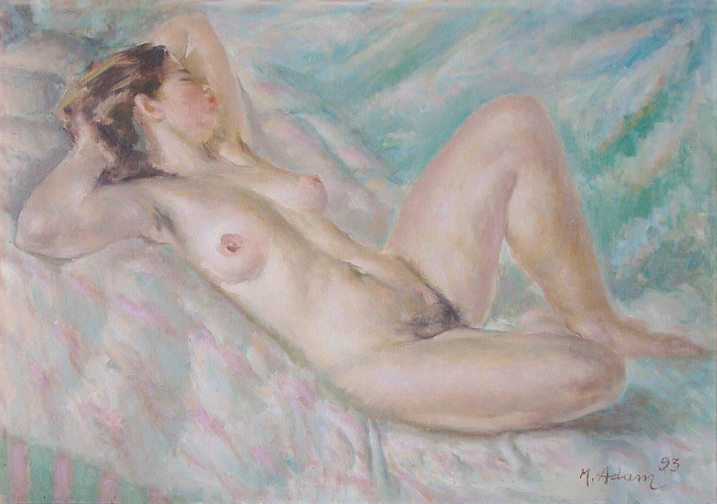 Madzia jako Danae, 1993