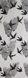 Tapeta swallows in the sky