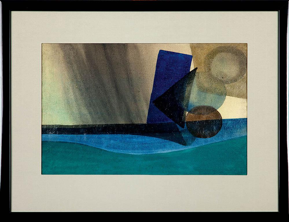 Kompozycja abstrakcyjna, lata 50 XX w.