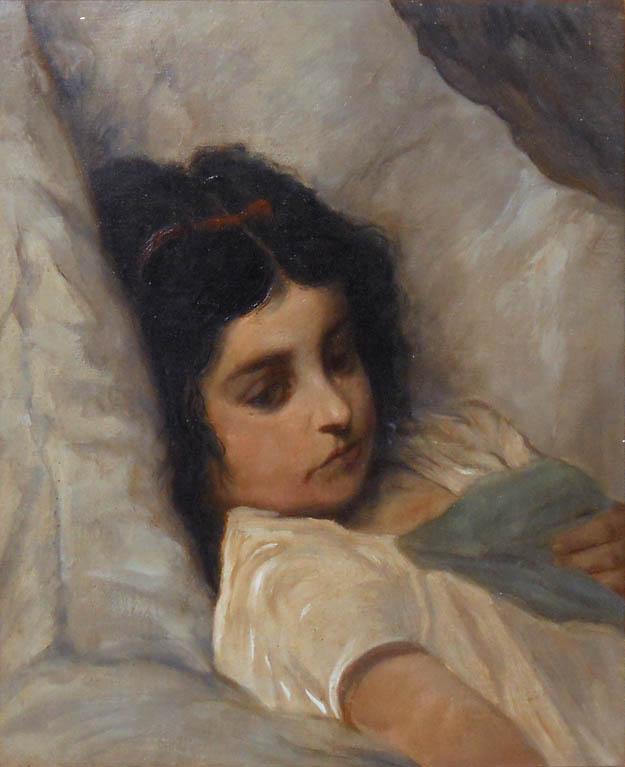 Fille au lit (1882)
