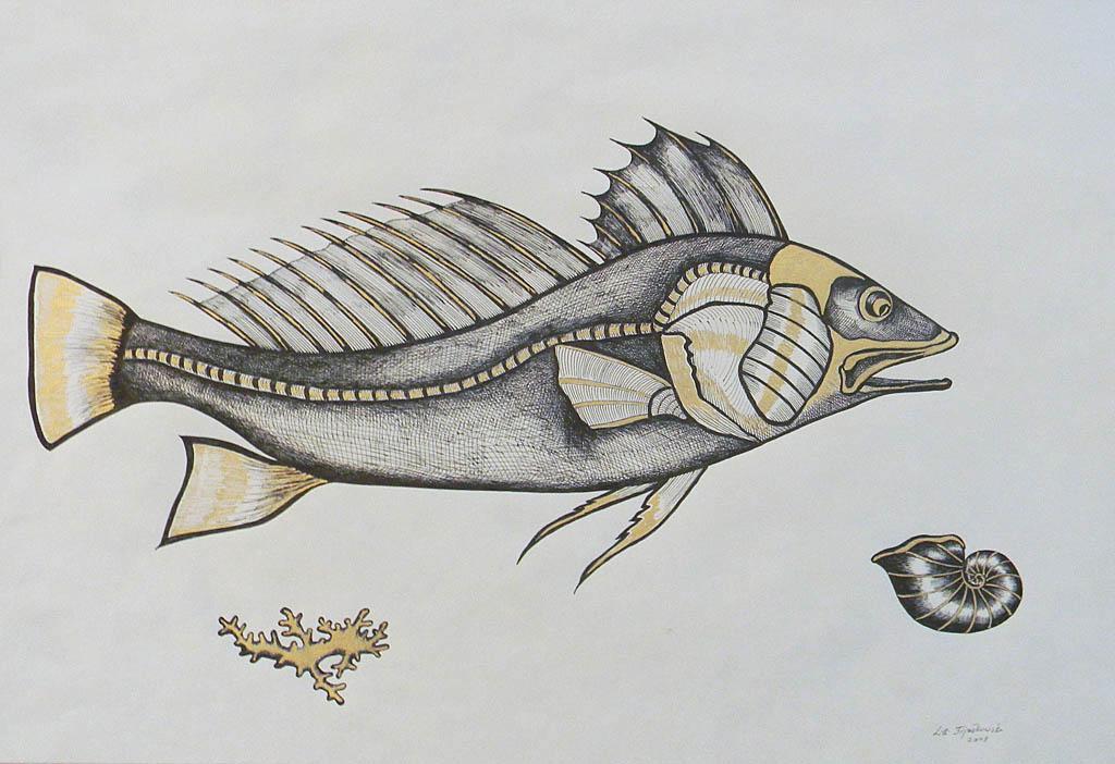 Ryba z rafy koralowej I, 2008