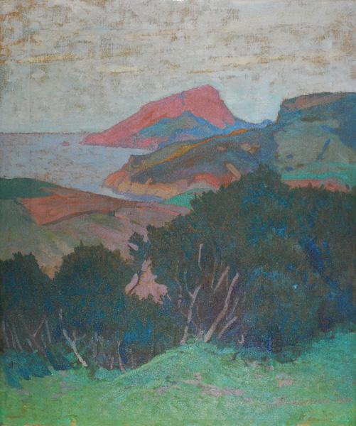 Pejzaż nadmorski z Korsyki, 1912