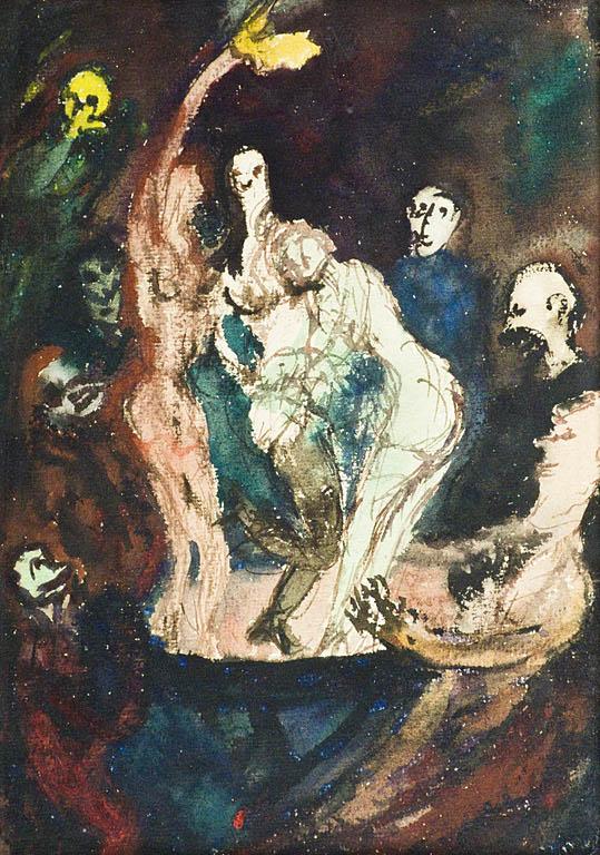 SCENA ALEGORYCZNA, 1951