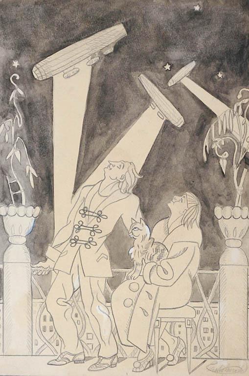 Noc Zeppelinów, ok. 1920