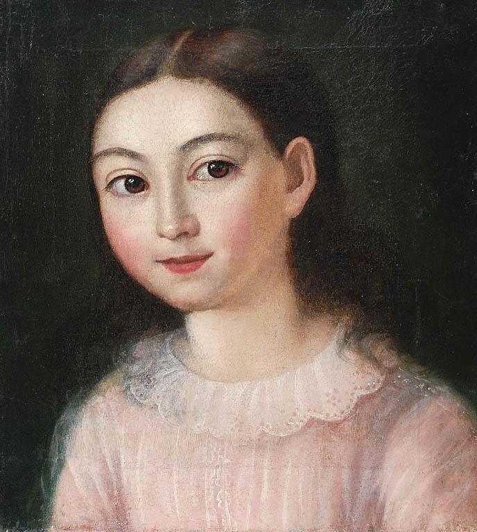 Portret dziewczynki, 1854