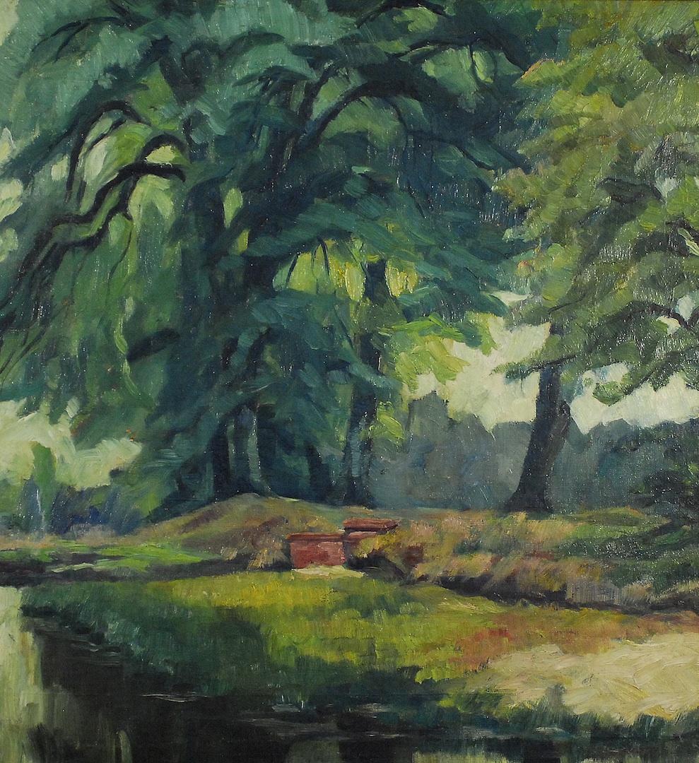 Jezioro leśne