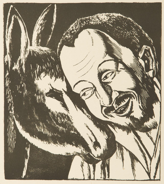 Sancho Pansa i osiołek