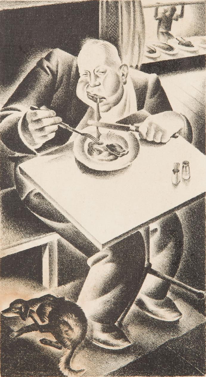 Obżarstwo, 1929 r.