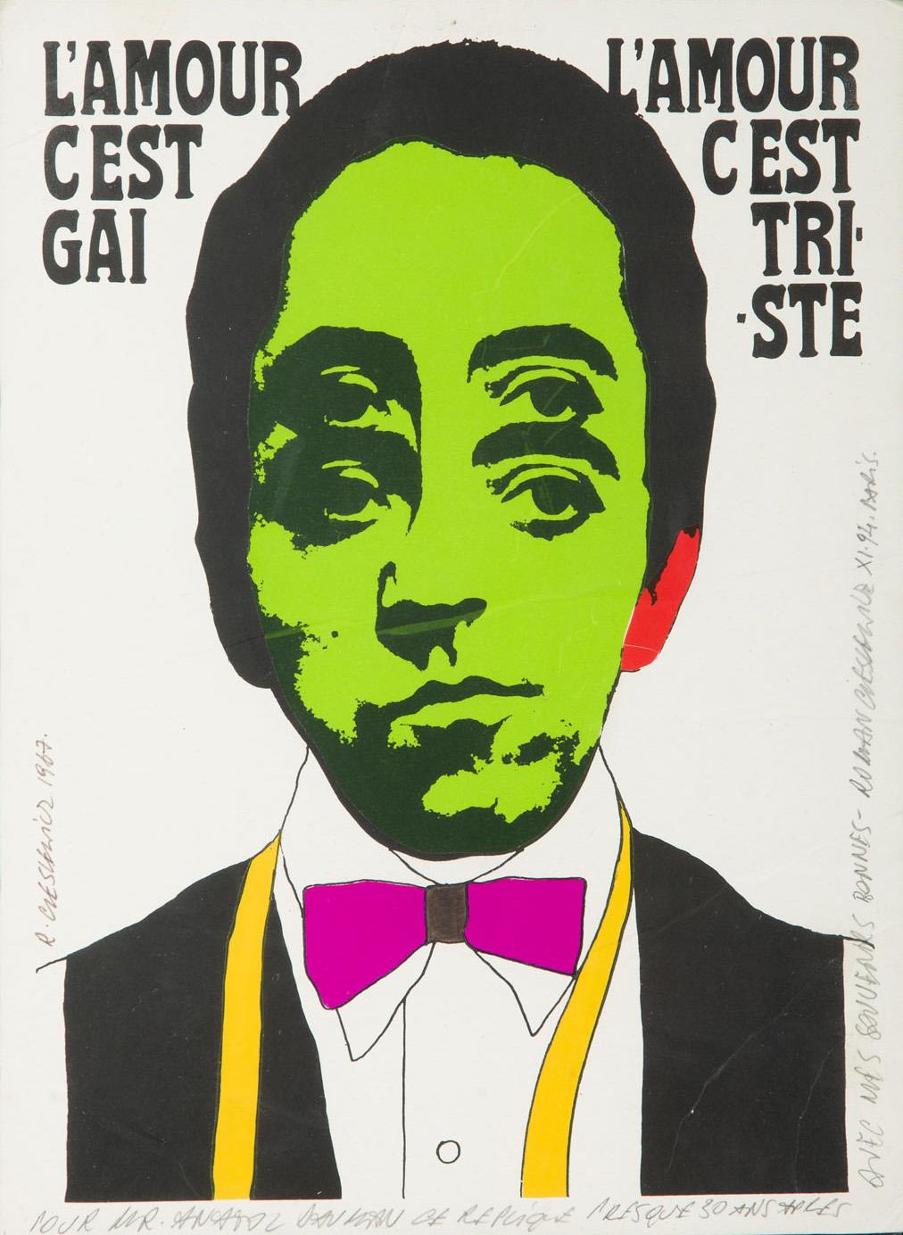 Miłość jest radosna, miłość jest smutna, 1967 r.