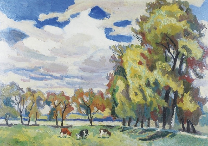 Pastwisko - pod jesień