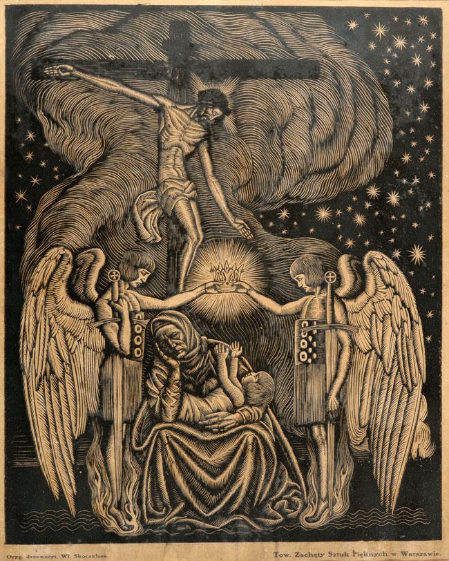 Z BOŻEJ ŁASKI (POLONIA) 1915/1919