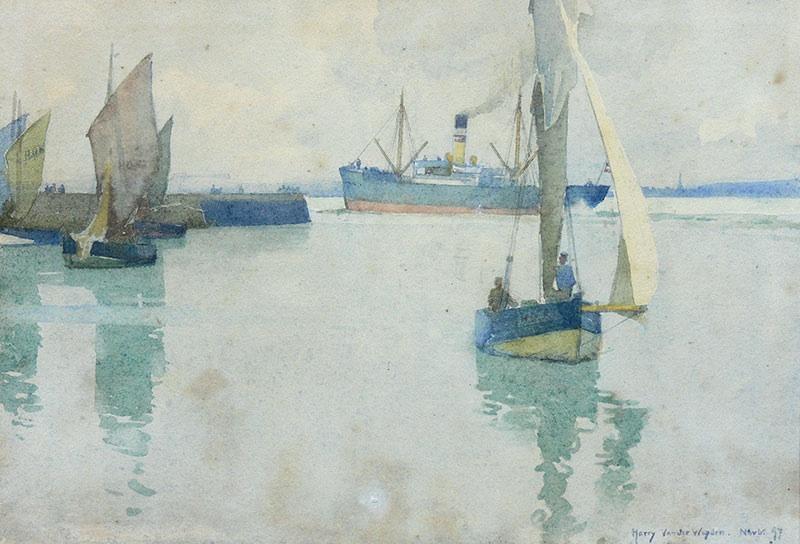 Łodzie, 1897 r.