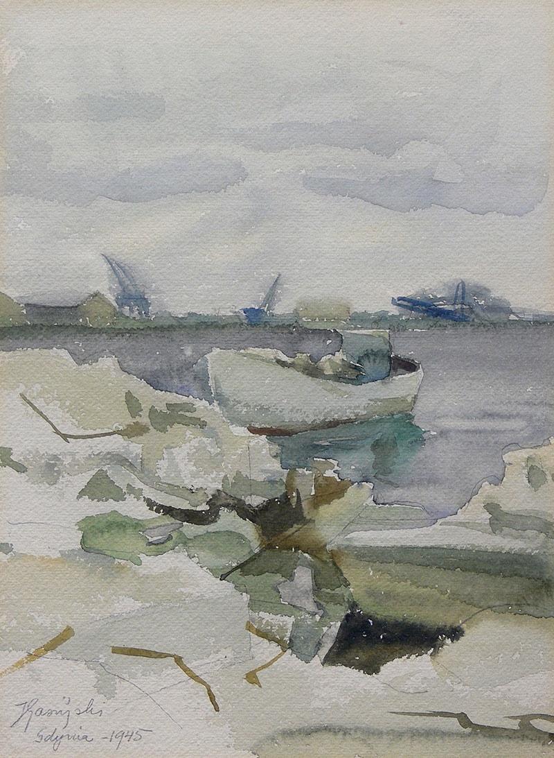 Łodzie, 1945 r.