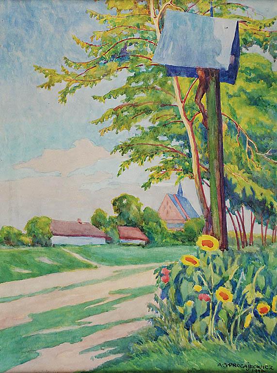 Przydrożna kapliczka, 1940