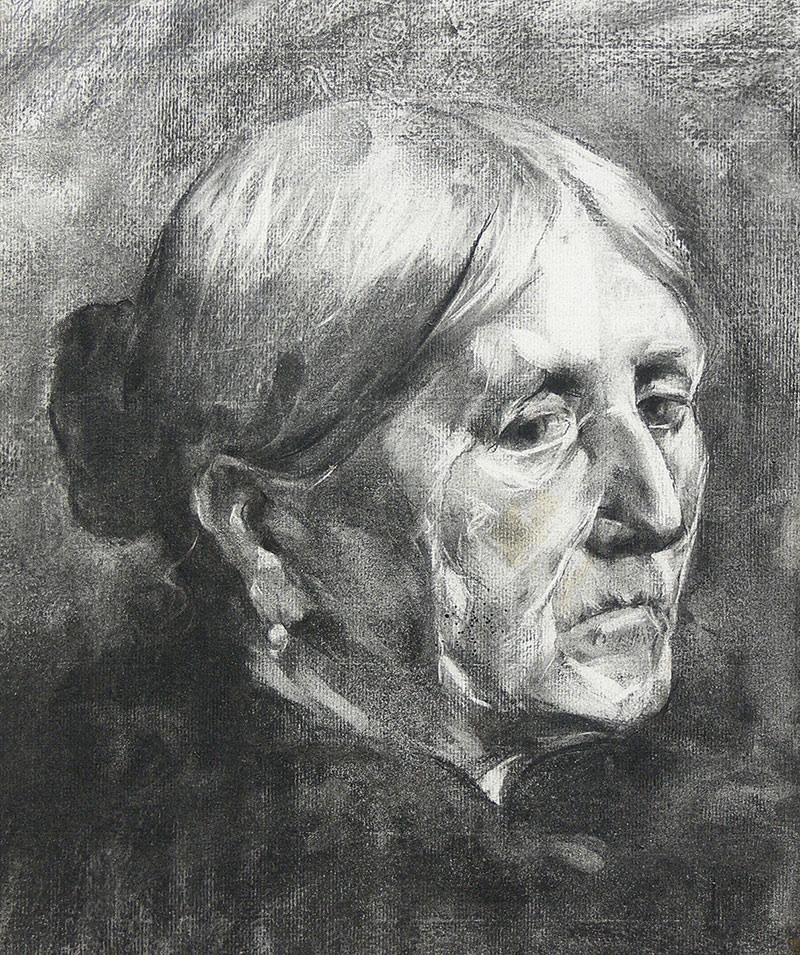 Portret kobiety, 1899 r.