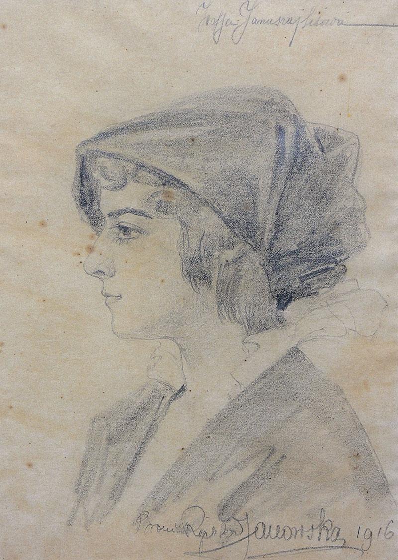 Portret Zofii, 1916 r.