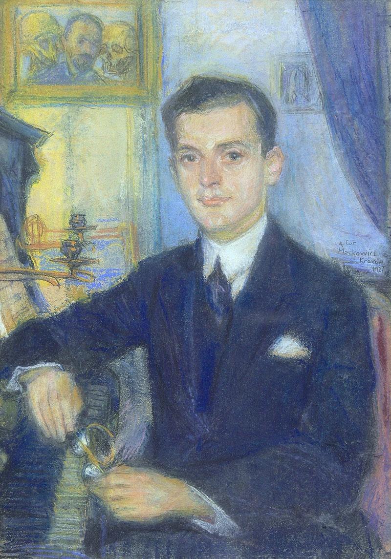 Portret mężczyzny, 1927 r.