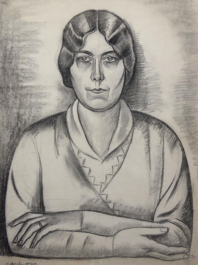 Portret kobiety, 1930 r.