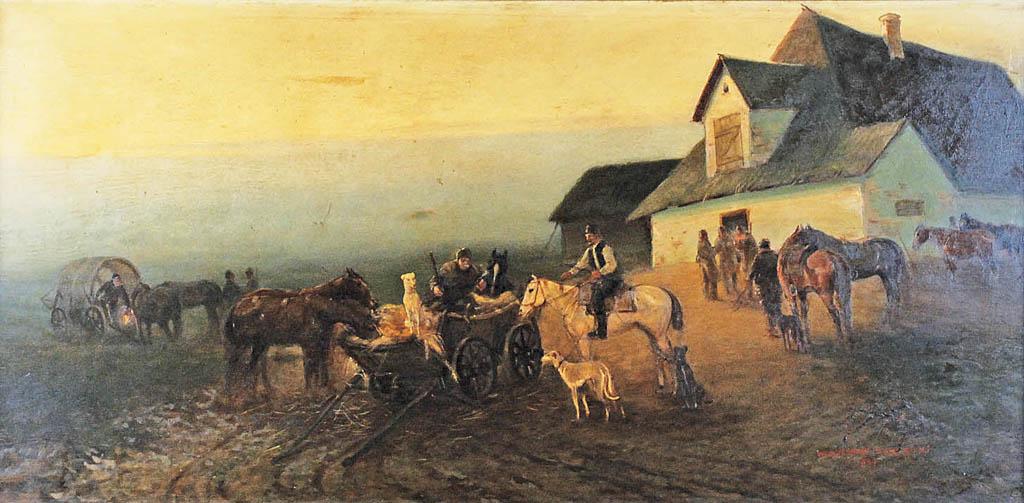 Wyjazd na polowanie, 1937