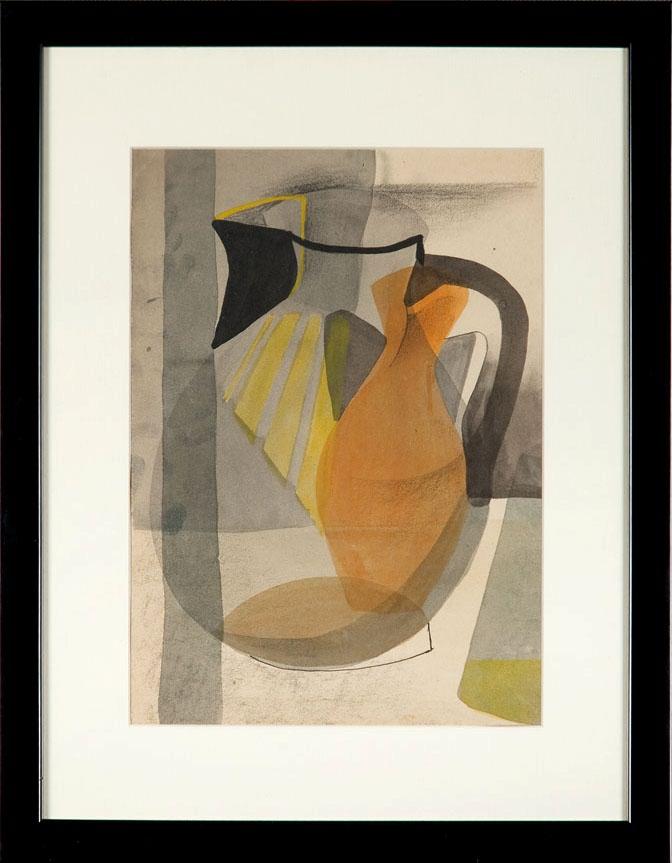 Martwa natura kubistyczna (z wazonawmi), ok. 1954 r.