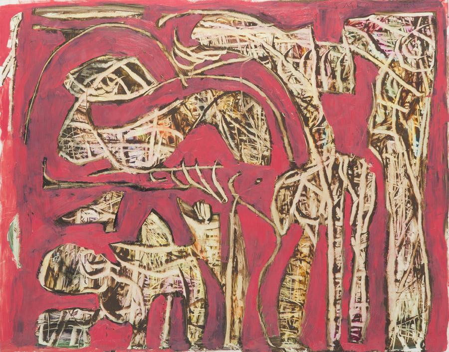 Kompozycja I (czerwona), 2004 r.