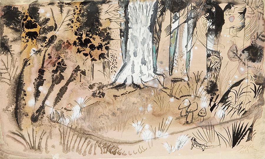 Szum drzew, 1959 r.