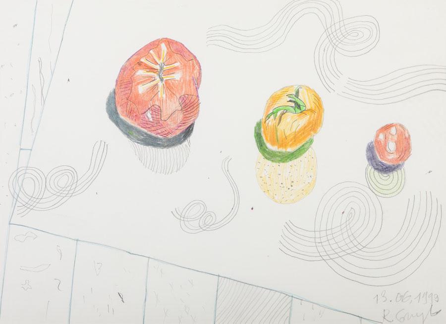 Martwa natura z owocami, 1999 r.
