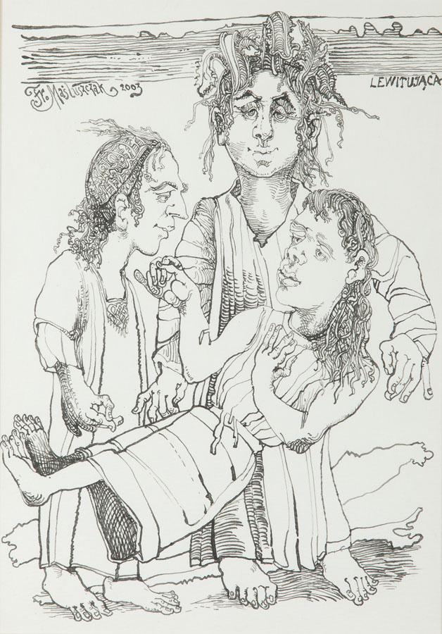 Lewitująca, 2003 r.