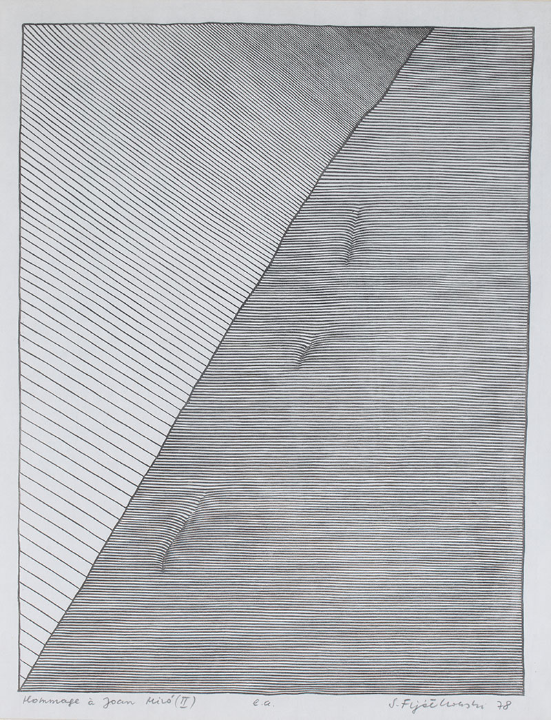 Hommage a Joan Miro (II), 1978