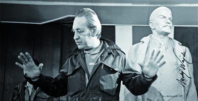 Zdjęcie z planu Człowiek z żelaza , 1981, reż. Andrzej Wajda