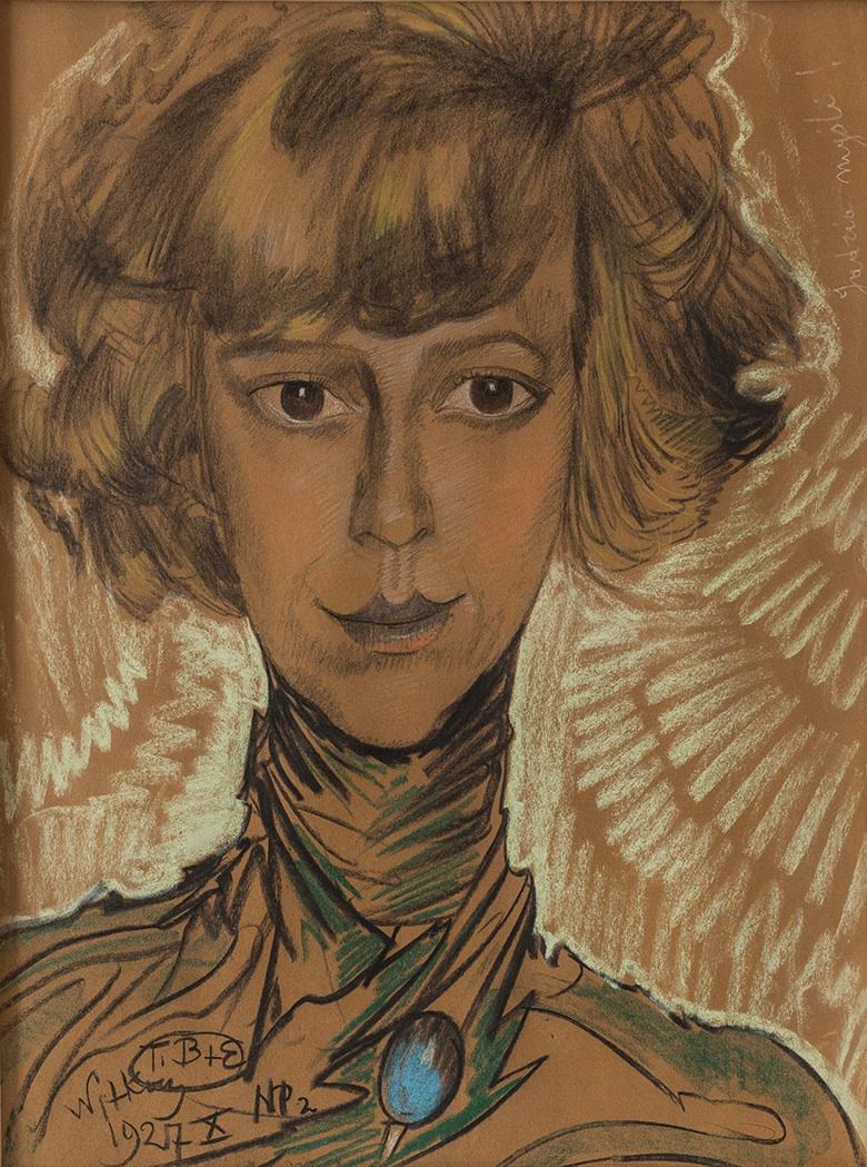Portret kobiety (Jadzia myśli), 1927