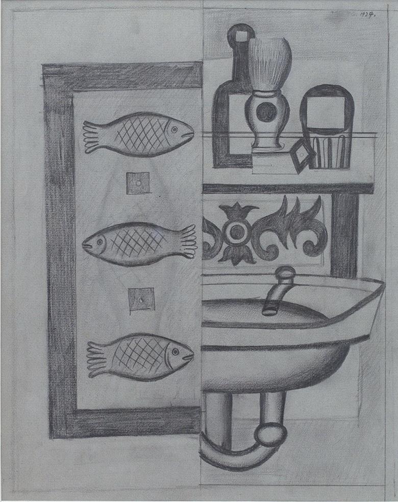 Ryby i przedmioty, 1927