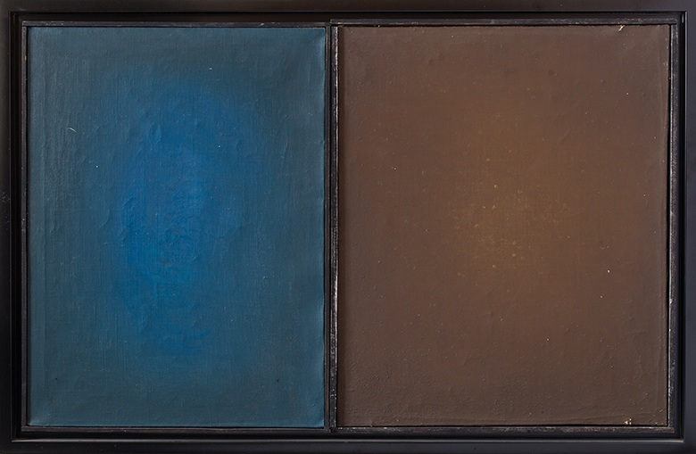dyptyk, z cyklu Obrazy puste, 1964-1965
