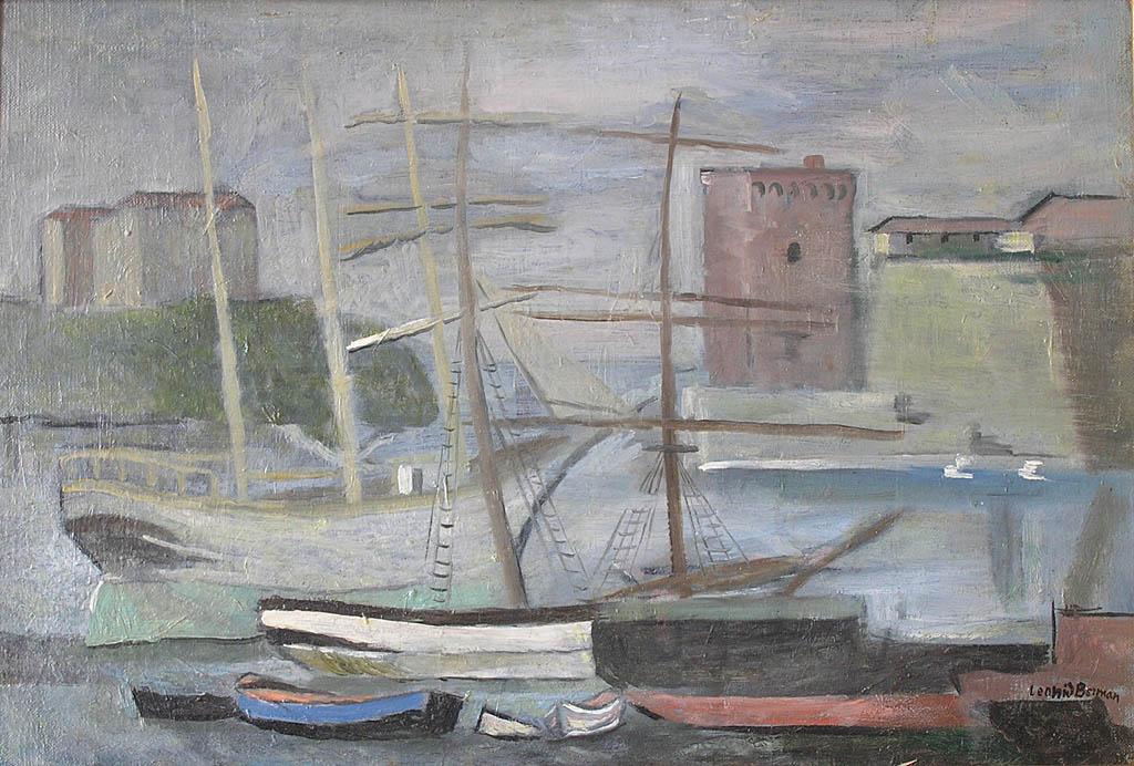 Bateaux au port (1926)