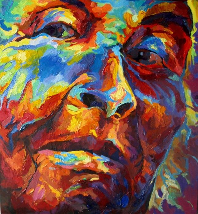 Portret (zcyklu Typy Bałuckie), 2014