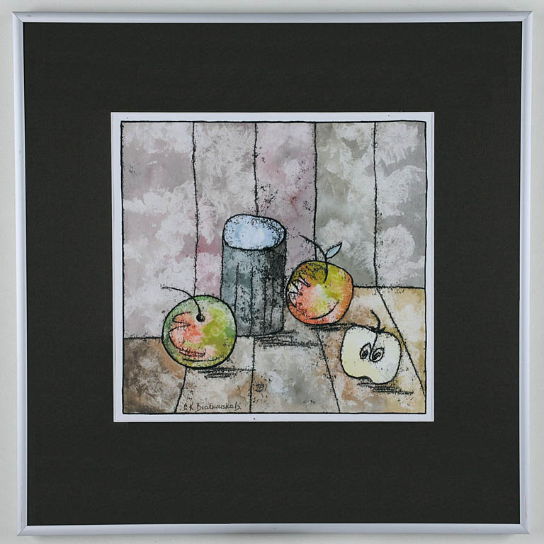 Martwa natura z jabłkami, 2009