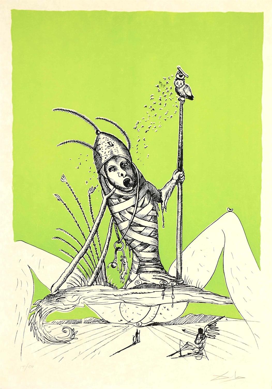 Z barwnego cyklu: Zabawne sny Pantagruela, 1973