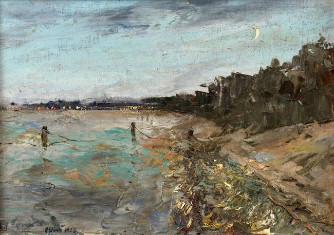 ORŁOWO (O ZACHODZIE SŁOŃCA), 1928 z cyklu Polskie morze