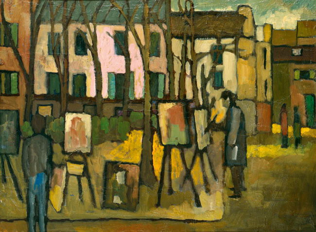 PLACE DU TūRTRE, 1966