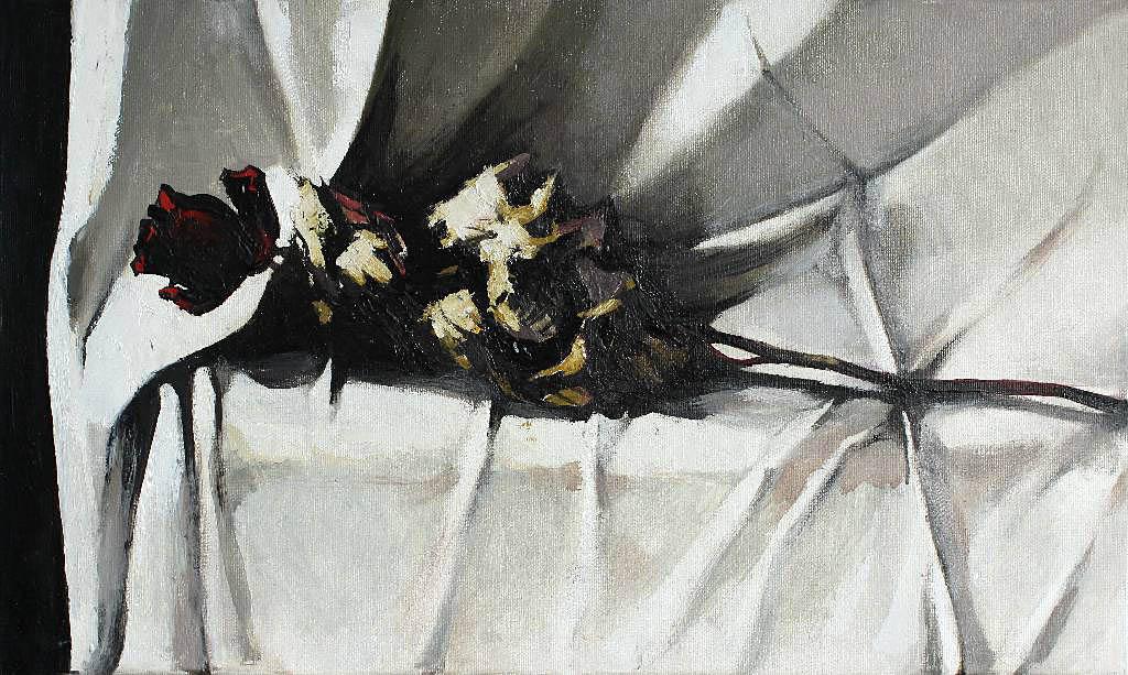 Sucha róża, 2009 r.