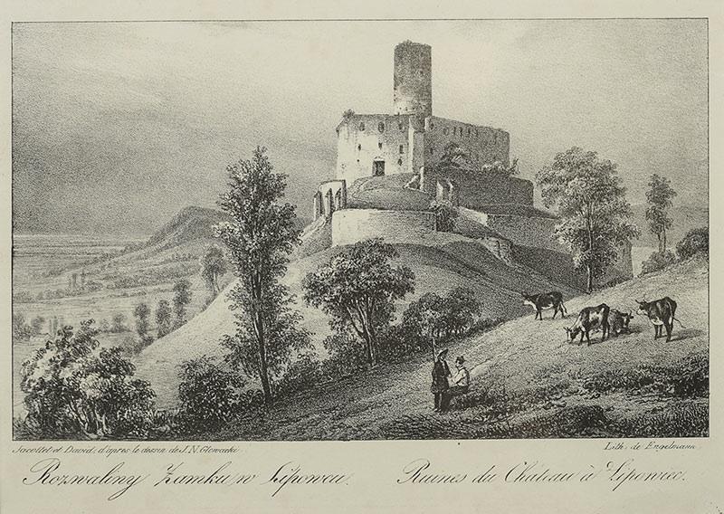 Rozwaliny zamku w Lipowcu