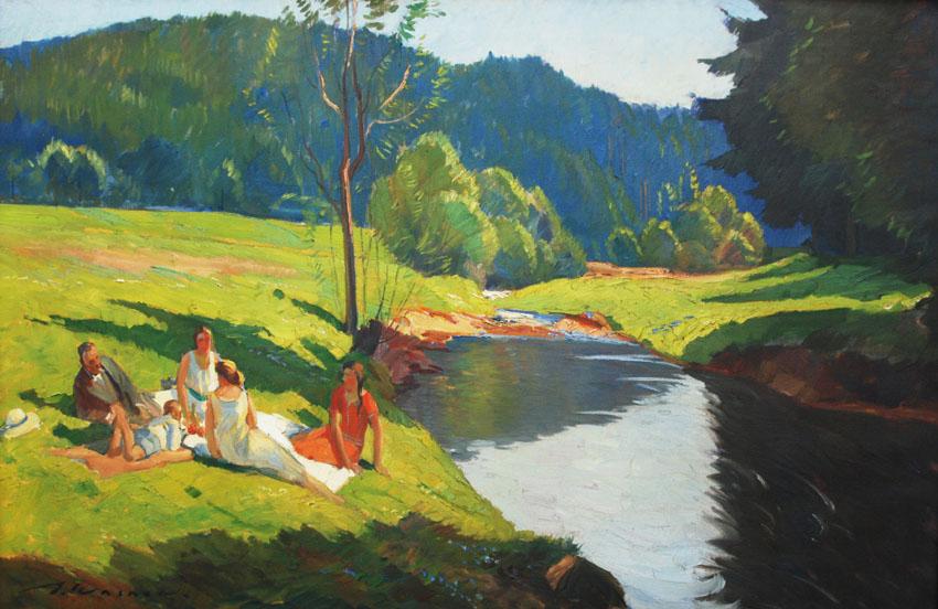 Piknik nad rzeką